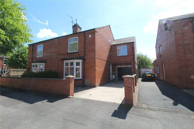 Thumbnail Semi-detached house for sale in Harewood Avenue, Newark
