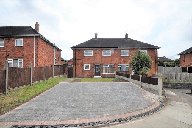 Thumbnail Semi-detached house to rent in Brickfield Place, Sandford Hil, Stoke-On-Trent