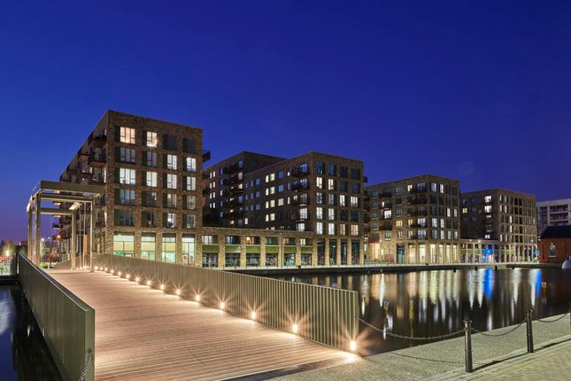 3 bedroom flat for sale in Shakleton Way, Royal Albert Wharf, London