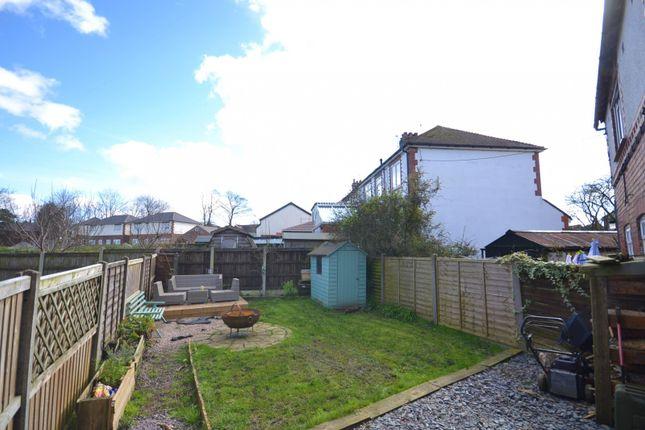 Garden of Minor Avenue, Lyme Green, Macclesfield SK11