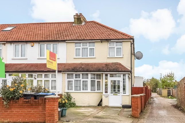 Thumbnail End terrace house for sale in Fullers Way South, Chessington