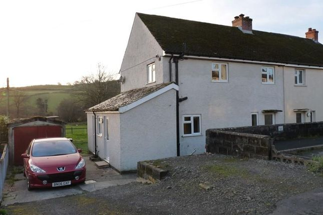 Thumbnail Semi-detached house to rent in Brynawelon, Trecastle, Brecon