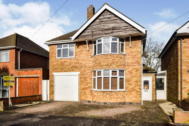 Thumbnail Detached house for sale in Harrowgate Drive, Birstall, Leicester, Leicestershire