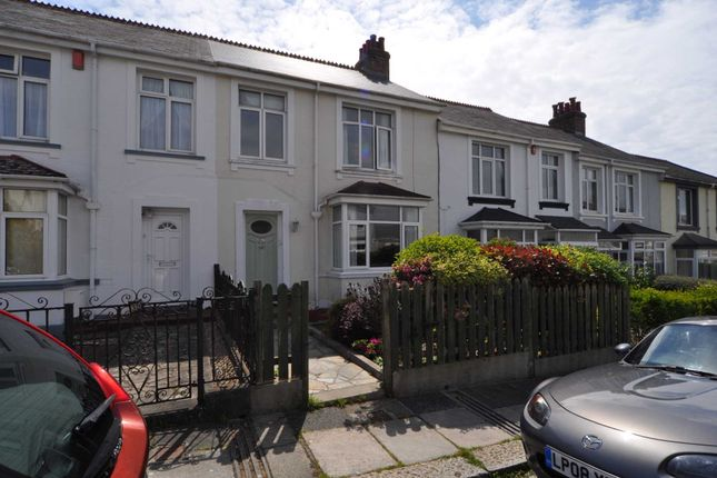 Thumbnail Terraced house to rent in Glenavon Road, Plymouth