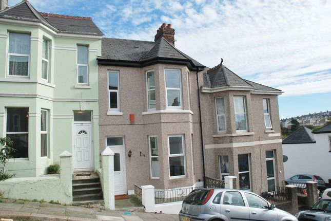 Thumbnail Town house to rent in Turret Grove, Mutley, Plymouth