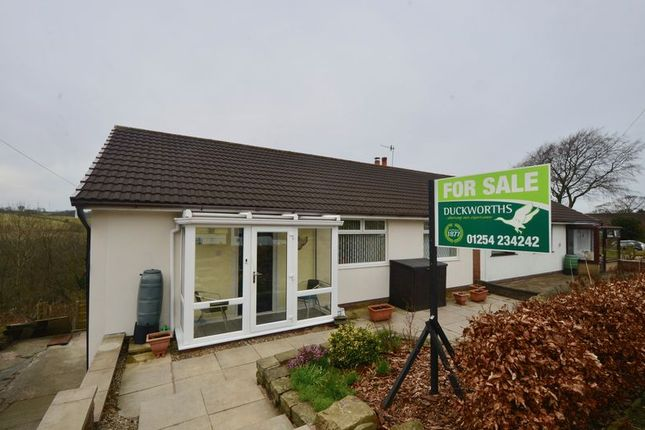 Thumbnail Semi-detached bungalow for sale in Back Lane, Baxenden, Accrington