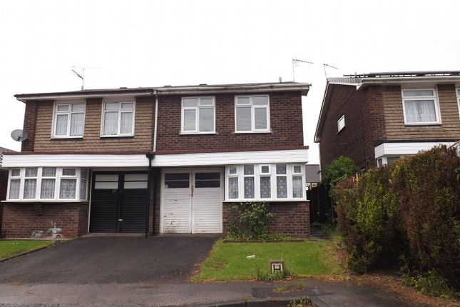 Thumbnail Semi-detached house to rent in Primley Close, Walsall