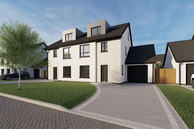 Thumbnail Semi-detached house for sale in Plot 60, The Meadows, Douglas Road, Castletown