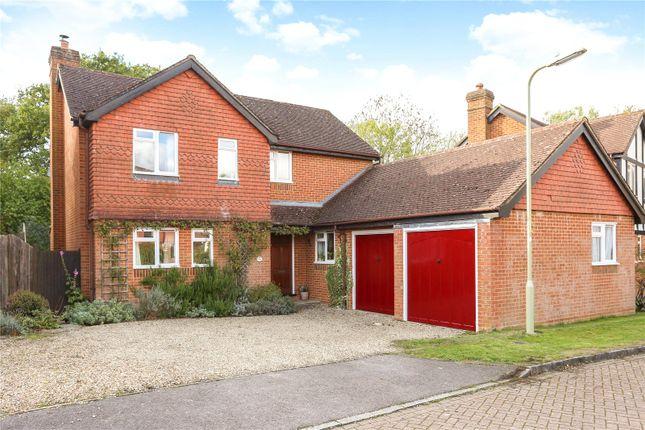 Thumbnail Detached house for sale in Du Maurier Close, Church Crookham, Fleet, Hampshire