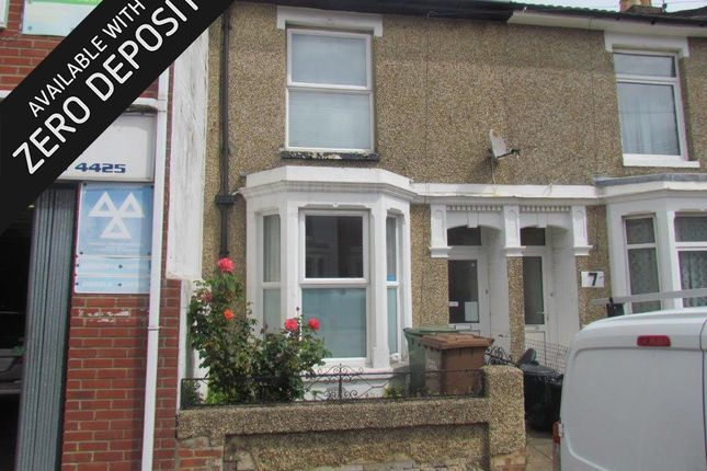 Thumbnail Terraced house to rent in Northcote Road, Southsea
