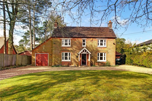 Thumbnail Detached house for sale in The Ridge, Cold Ash, Thatcham, Berkshire