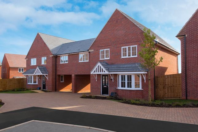 """Thumbnail Semi-detached house for sale in """"Chesham Special"""" at Blackthorn Crescent, Brixworth, Northampton"""