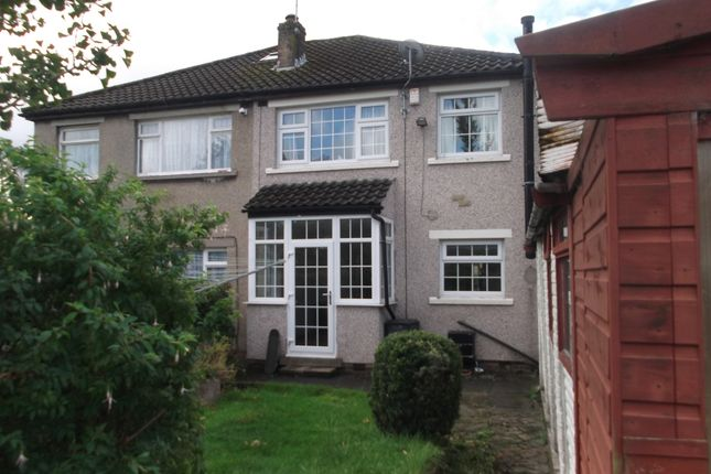 Thumbnail Semi-detached house to rent in Wimborne Drive, Bradford