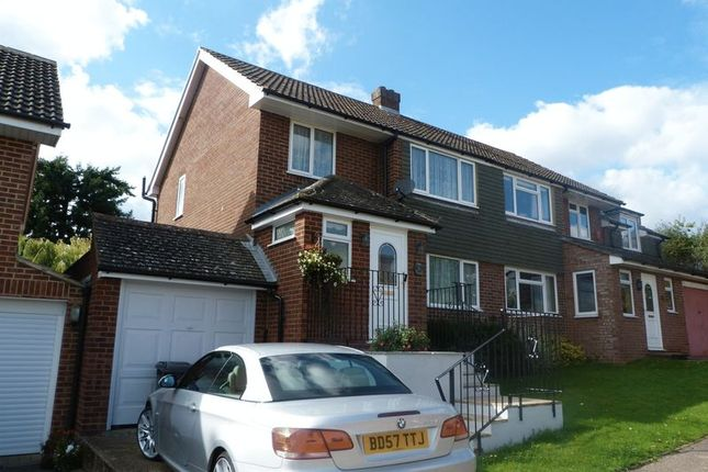 Thumbnail Semi-detached house for sale in The Ridgeway, Marlow
