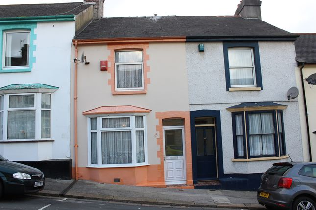 Thumbnail Terraced house for sale in Craigmore Avenue, Plymouth