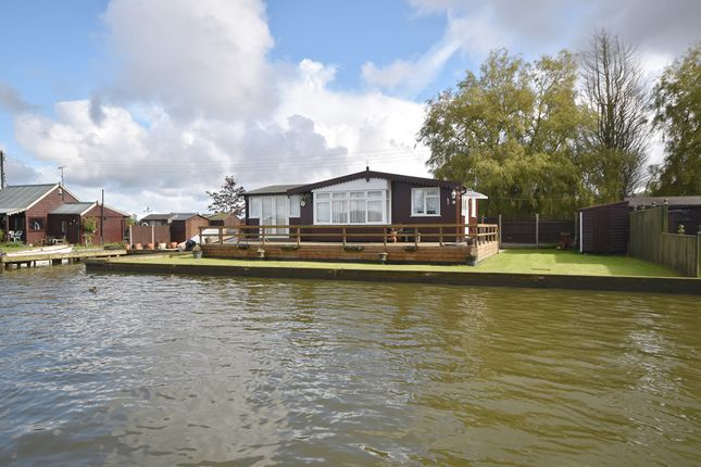 Thumbnail Detached bungalow for sale in Repps Riverbank, Repps With Bastwick