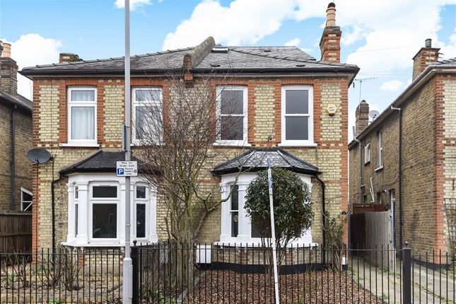 Thumbnail Semi-detached house for sale in Wyndham Road, Kingston Upon Thames