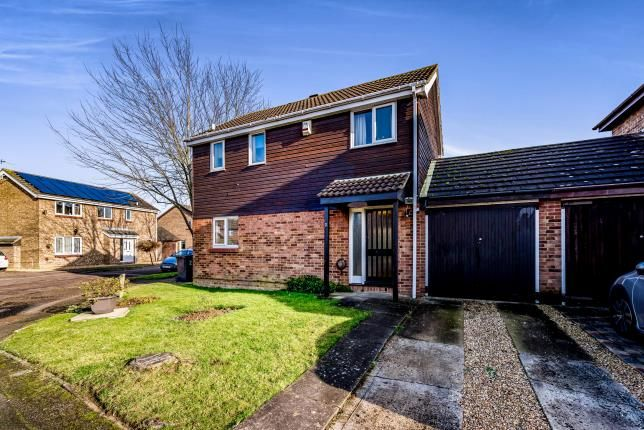 Thumbnail Link-detached house for sale in Churnet Close, Bedford, Bedfordshire, .