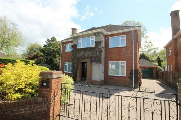 Thumbnail Detached house to rent in Homestead Gardens, Frenchay, Bristol