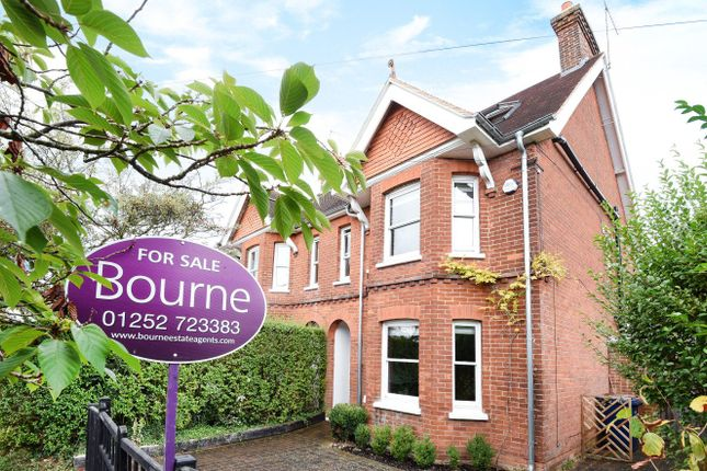 Thumbnail Semi-detached house for sale in St. Johns Road, Farnham, Surrey