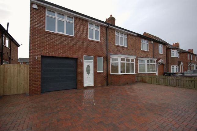 Thumbnail Semi-detached house for sale in Great Lime Road, Forest Hall, Newcastle Upon Tyne
