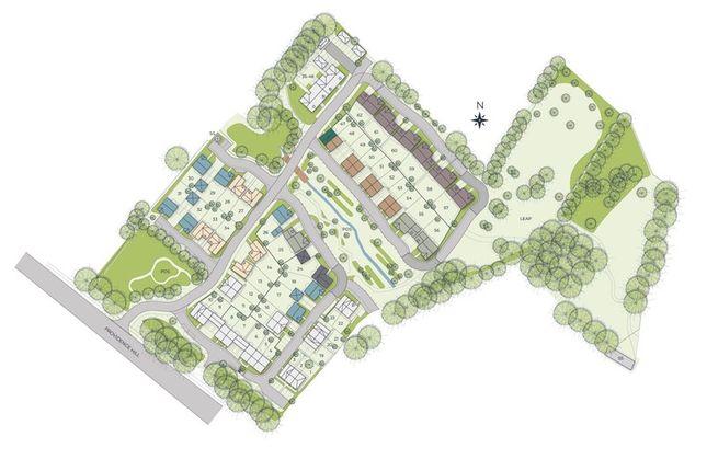 Site-Plan of Forge Close, Bursledon, Southampton SO31