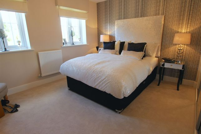 "Thumbnail Detached house for sale in ""The Mayfair "" at Riber Drive, Chellaston, Derby"