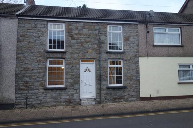 Thumbnail Terraced house to rent in Llewellyn Street, Pentre