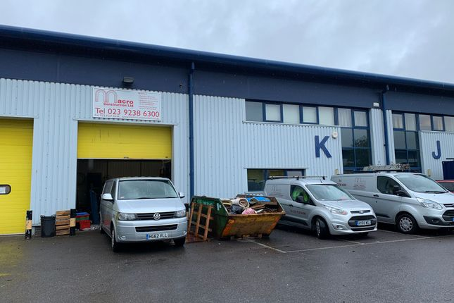 Thumbnail Industrial for sale in Unit K, Oyo Business Units, Portsmouth