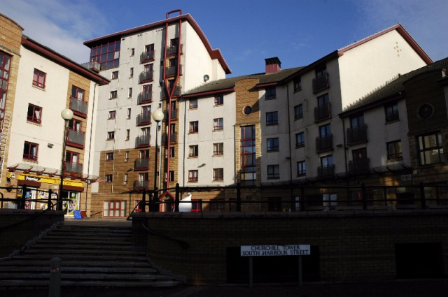 Thumbnail Flat to rent in Churchill Tower, Ayr, South Ayrshire KA7 1Jt, Ka7