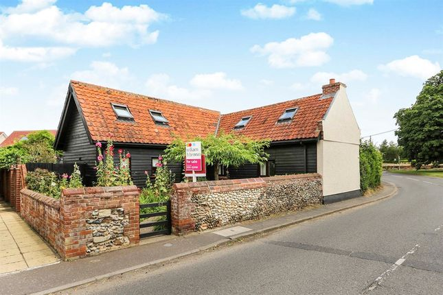 Thumbnail Barn conversion for sale in Crown Street, Banham, Norwich