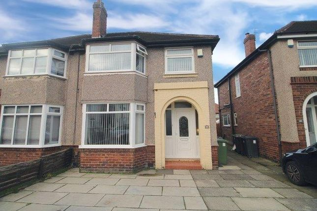 Thumbnail Semi-detached house for sale in Ecclesall Avenue, Litherland, Liverpool