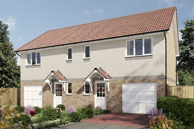 """Thumbnail Semi-detached house for sale in """"The Newton"""" at South Gyle Wynd, Edinburgh"""