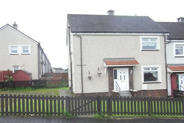 Thumbnail End terrace house to rent in Crookdyke Court, Gowan Brae, Caldercruix, Airdrie