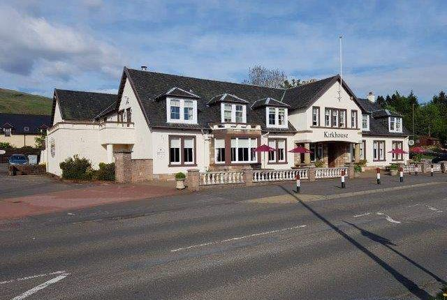 Thumbnail Leisure/hospitality for sale in Ther Kirkhouse Inn, Glasgow Road, Strathblane, Glasgow