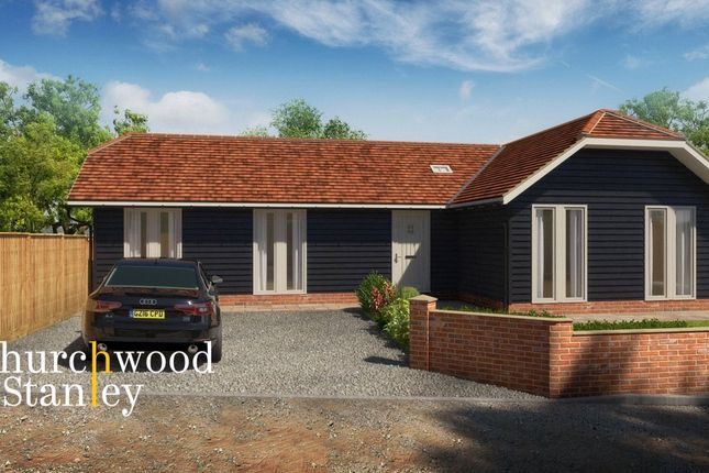 Thumbnail Bungalow for sale in The Street, Ramsey, Harwich, Essex