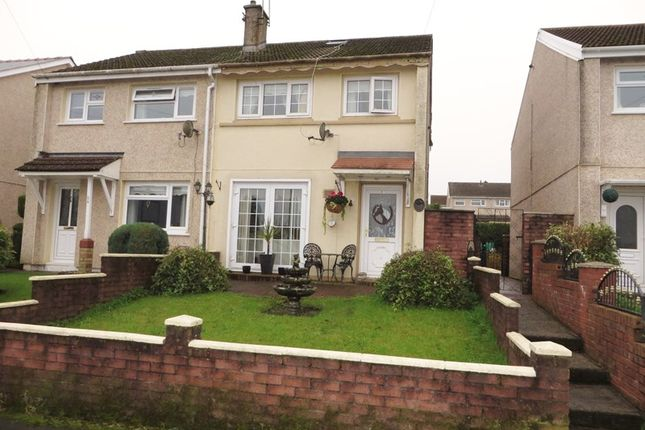 Thumbnail Semi-detached house for sale in Brynawelon, Nantyglo, Ebbw Vale