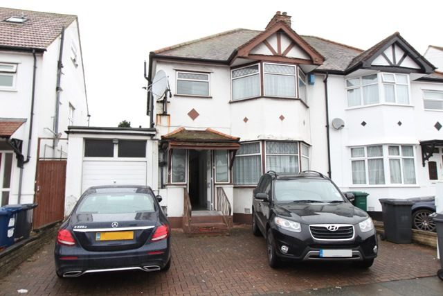Thumbnail Semi-detached house to rent in Grove Road, Edgware