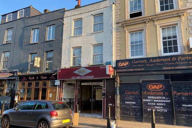 Thumbnail Restaurant/cafe to let in High Street, Chatham, Kent