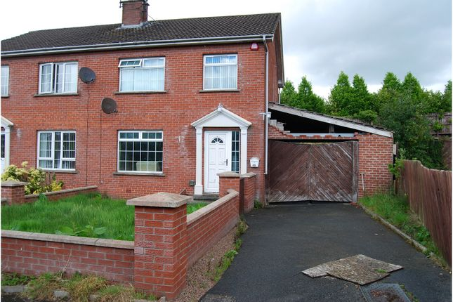 Thumbnail Semi-detached house for sale in Jubilee Heights, Dromore