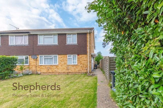 Thumbnail Maisonette to rent in Perrysfield Road, Cheshunt, Hertfordshire