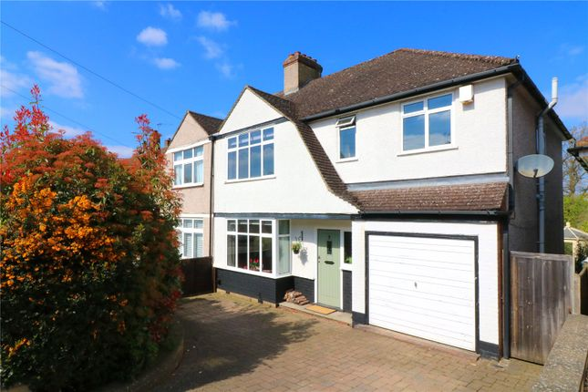 Thumbnail Semi-detached house for sale in Hazelbury Avenue, Abbots Langley