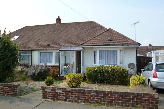 Thumbnail Bungalow to rent in Greet Road, Lancing