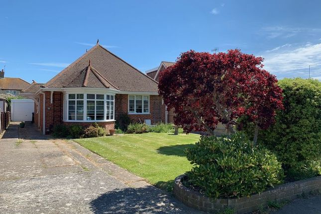 Thumbnail 3 bed detached bungalow for sale in Nutley Crescent, Goring-By-Sea, Worthing