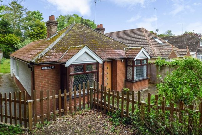 Thumbnail Detached bungalow for sale in Lower Vicarage Road, Kennington, Ashford
