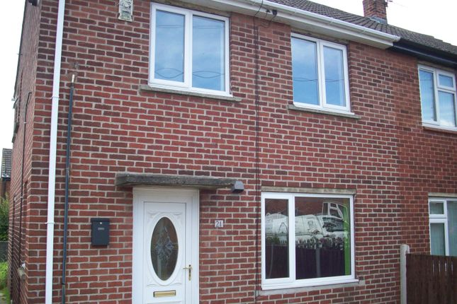 Thumbnail Semi-detached house to rent in Crossman Drive, Normanton