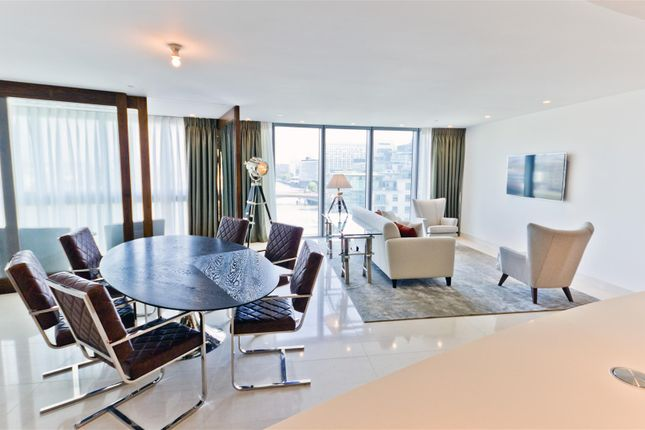 Thumbnail Flat to rent in The Tower, One St George Wharf, Nine Elms, London