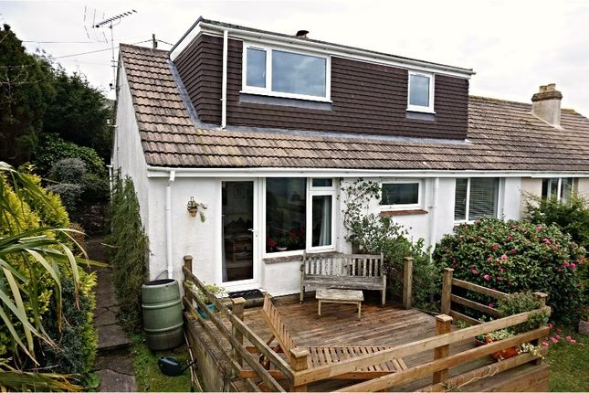 Thumbnail Semi-detached house for sale in Fortescue Road, Salcombe