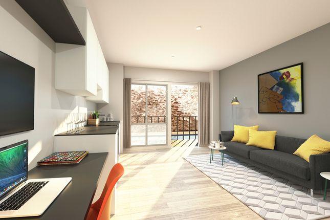 Thumbnail Flat to rent in Tudor Street, Exeter