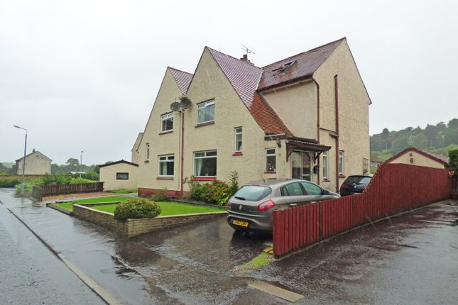 Thumbnail Semi-detached house for sale in Lintmill Road, Darvel